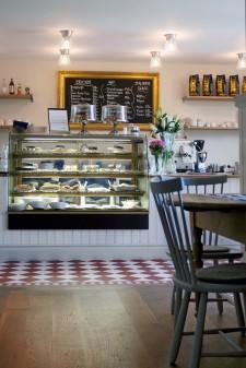 Cafe Strand i Kivik