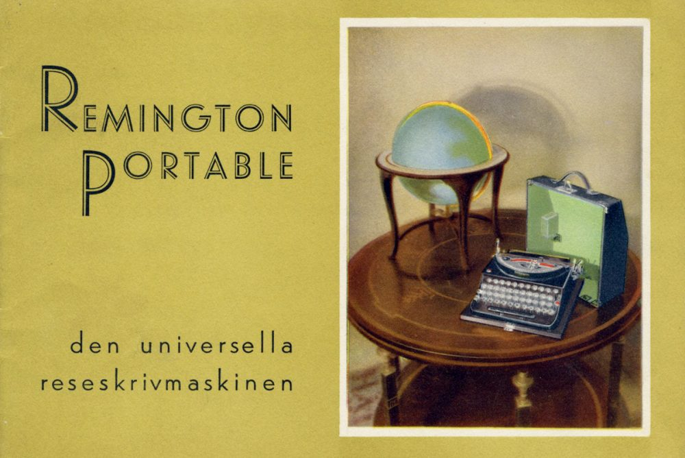 Remington Portable skrivmaskin