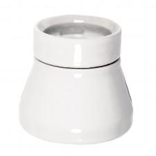 Fotlamphållare porslin