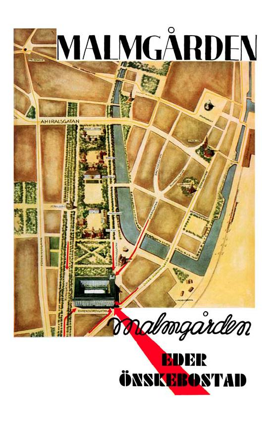 Malmgården - funkishus i Malmö av Eric Sigfrid Persson 1934