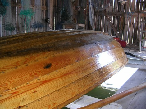 Malins träbåt