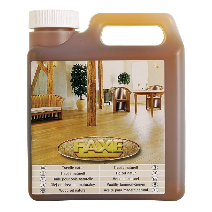 Byggmax träolja brun