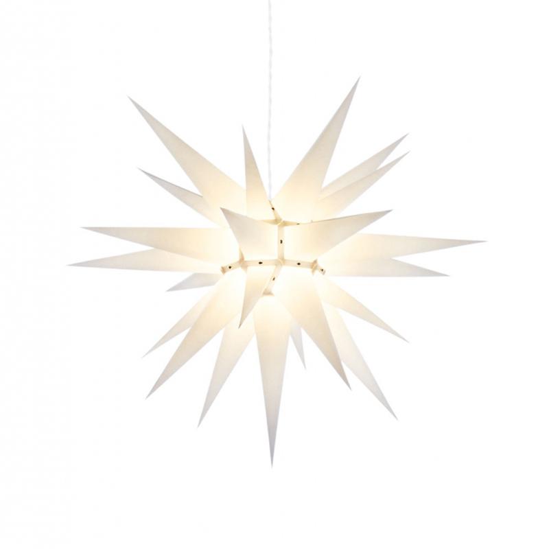 Julstjärna Vit 70 cm från Byggfabriken
