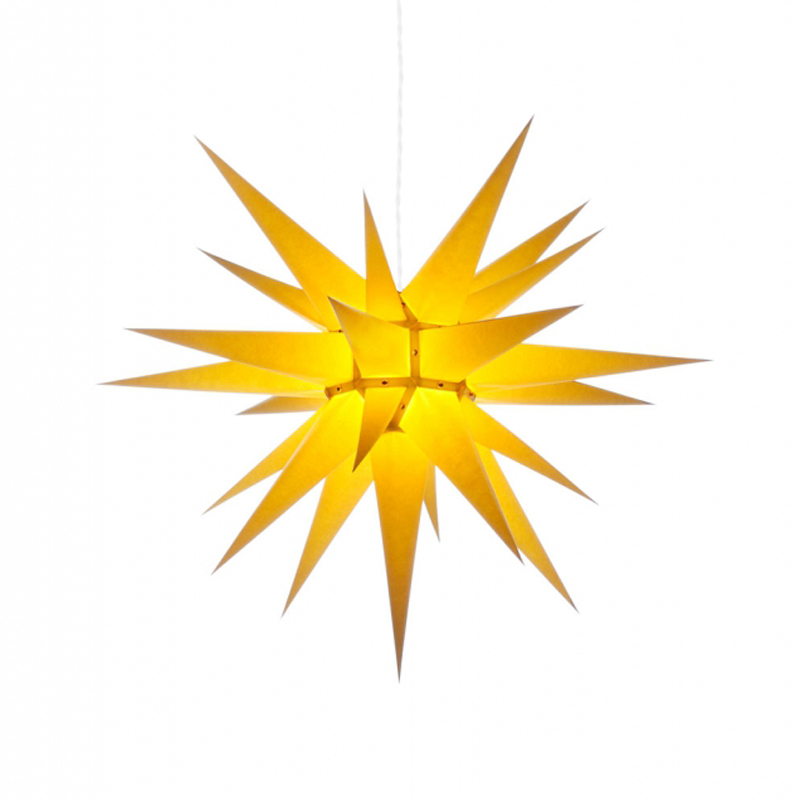 Julstjärna Gul 70 cm från Byggfabriken