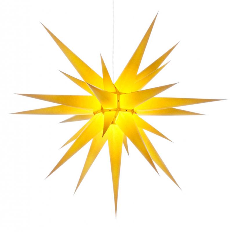 Julstjärna Gul 80 cm från Byggfabriken