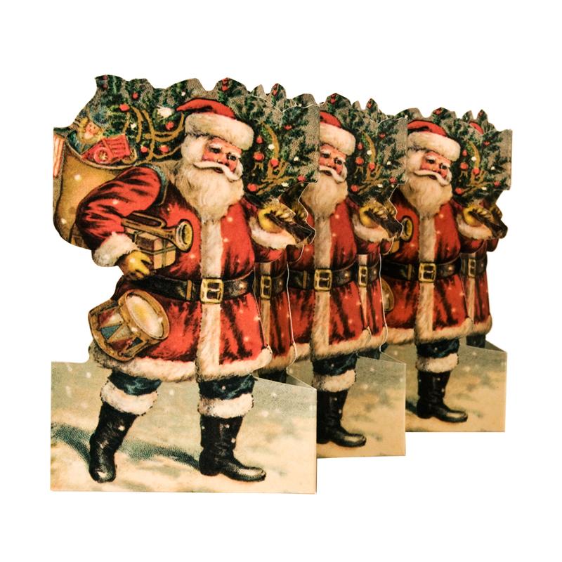 Pappersrad Jultomte från Byggfabriken