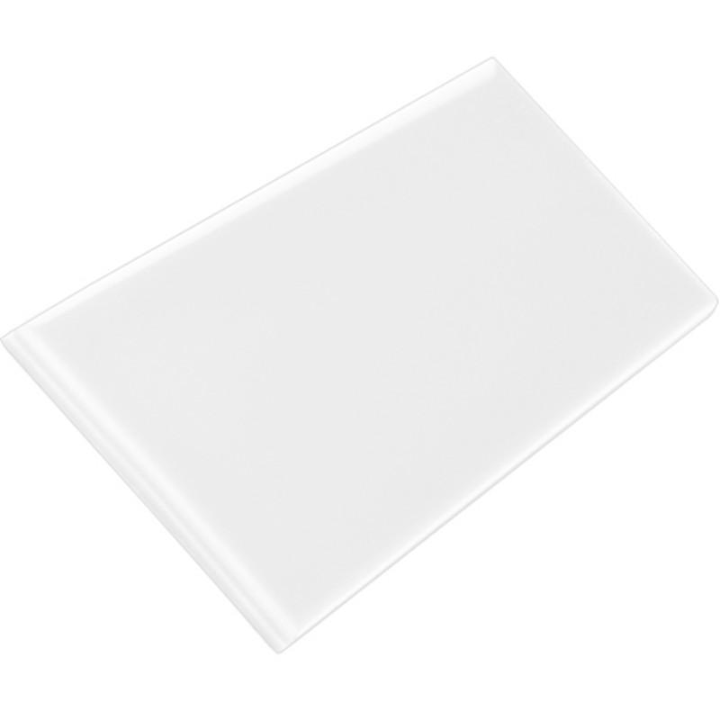 Subway Half Tile - Brilliant White KVM från Byggfabriken