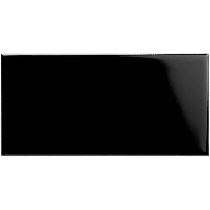 Subway Half Tile – Jet Black från Byggfabriken