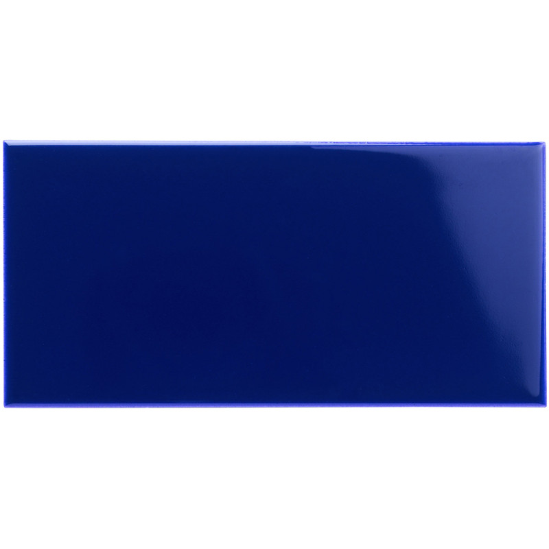 Subway Half Tile – Royal Blue från Byggfabriken