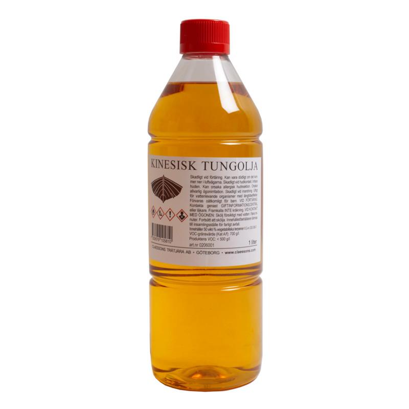 Kinesisk Tungolja 1 lit från Byggfabriken