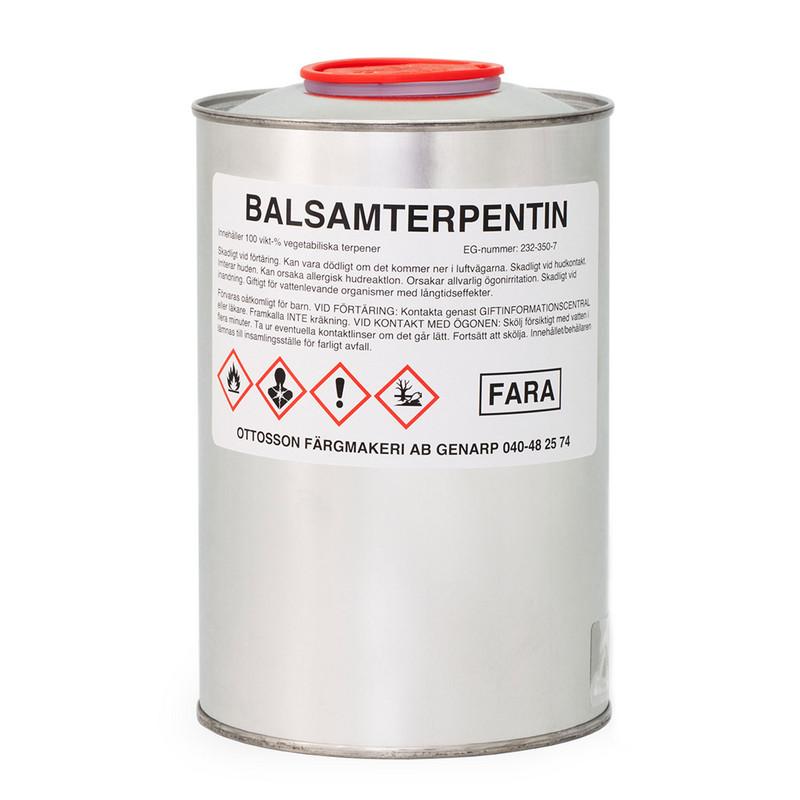 Balsamterpentin - 1 l från Byggfabriken