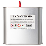 Balsamterpentin - 2,5 l från Byggfabriken