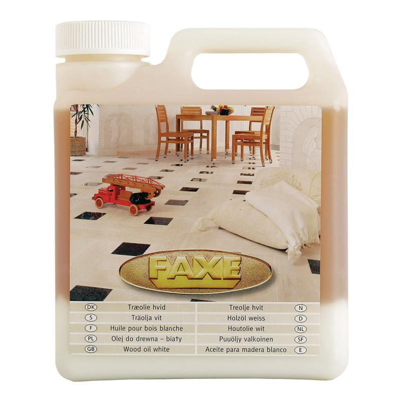 Faxe Träolja Vit från Byggfabriken