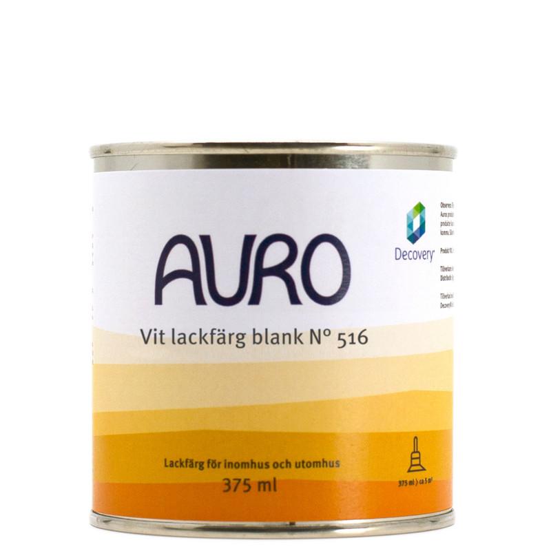 Lackfärg Vit Blank 516 - 375 ml. Kulör: Obruten vit från Byggfabriken