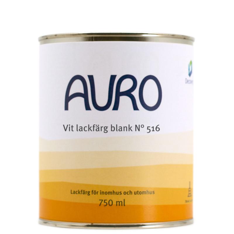 Lackfärg Vit Blank 516 - 750 ml. Kulör: Obruten vit från Byggfabriken
