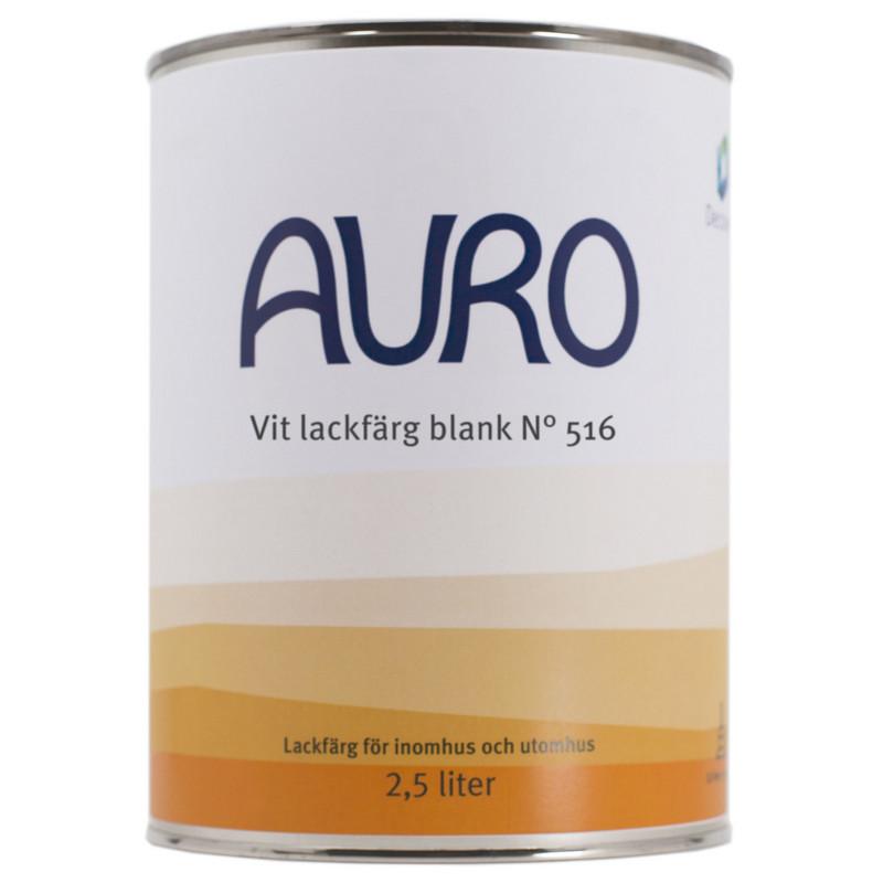 Lackfärg Vit Blank 516 - 2,5 l. Kulör: Obruten vit från Byggfabriken