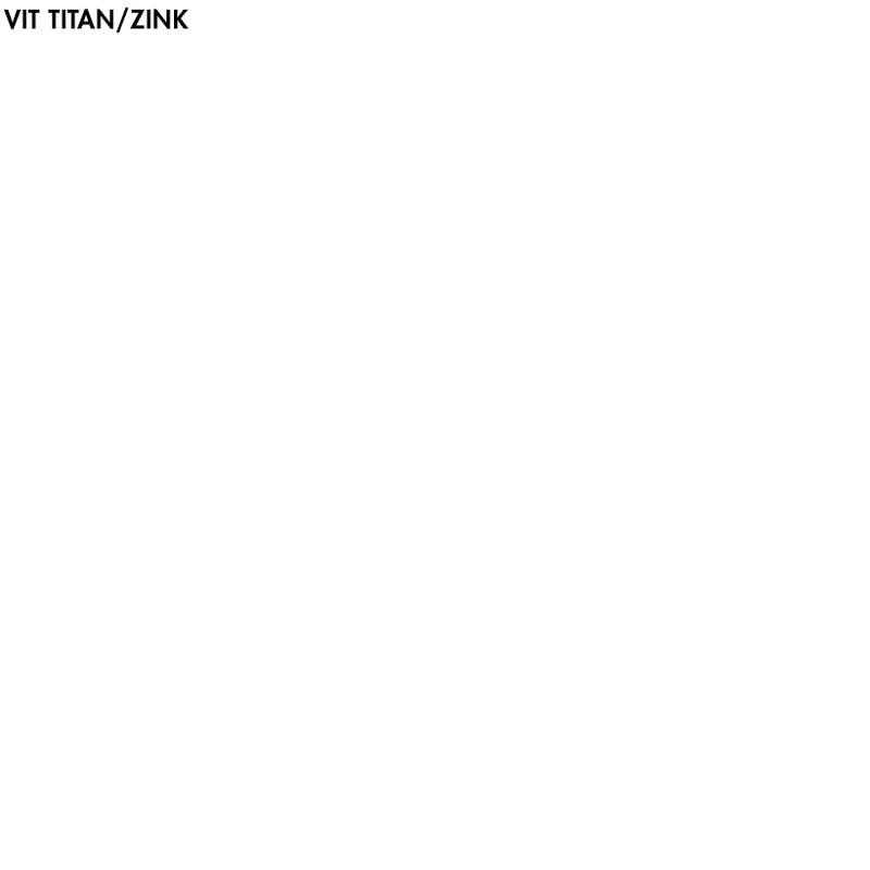 Vit Titan/Zink - 1 lit från Byggfabriken
