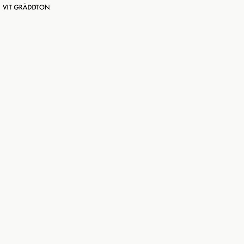 Vit Gräddton - 1 lit från Byggfabriken