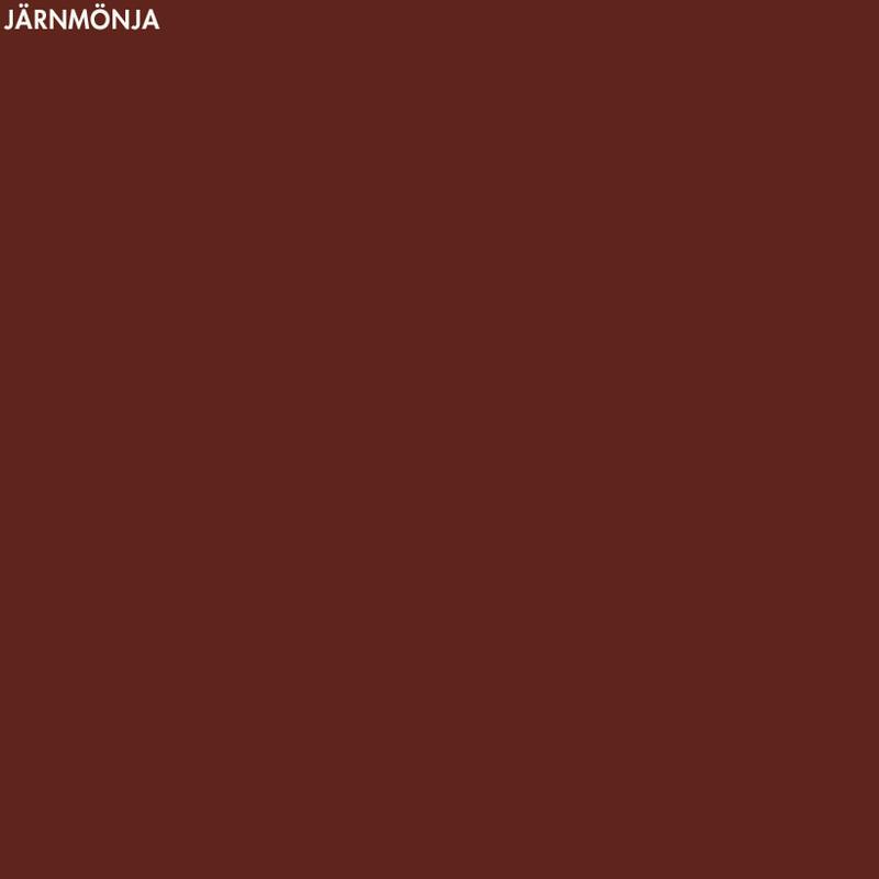 Järnmönja – 500 ml från Byggfabriken
