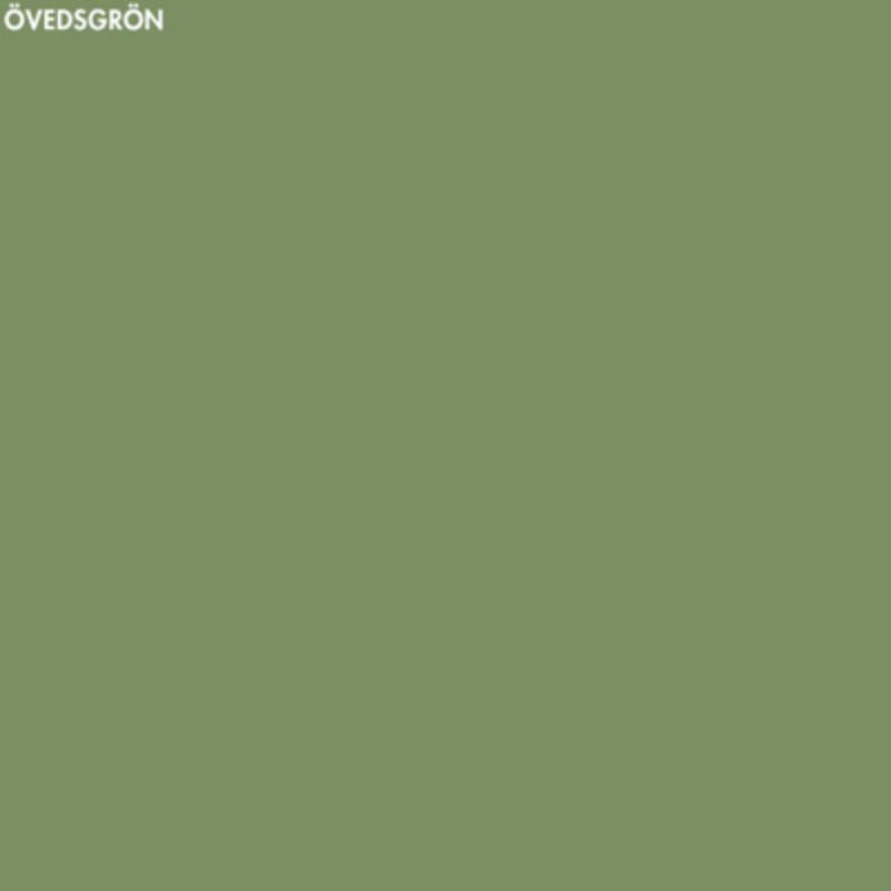 Övedsgrön linoljefärg - 1 lit från Byggfabriken