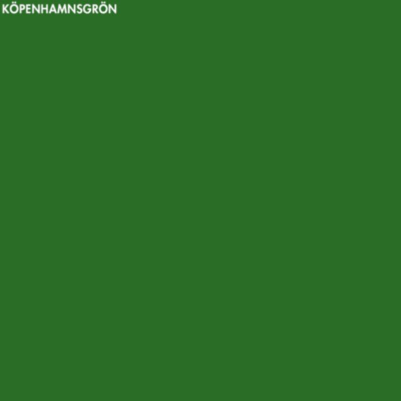 Köpenhamnsgrön linoljefärg – 1 lit från Byggfabriken