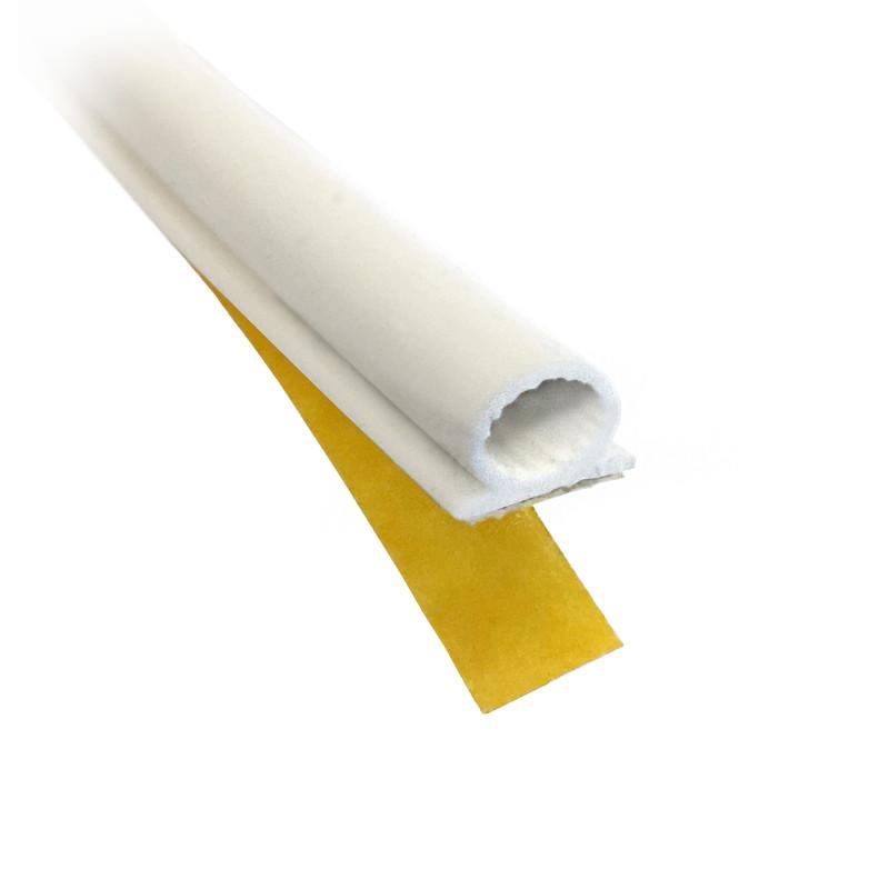 Tätningslist 7 mm vit från Byggfabriken