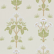 Tapet – Meadow Sweet Vellum/Green från Byggfabriken