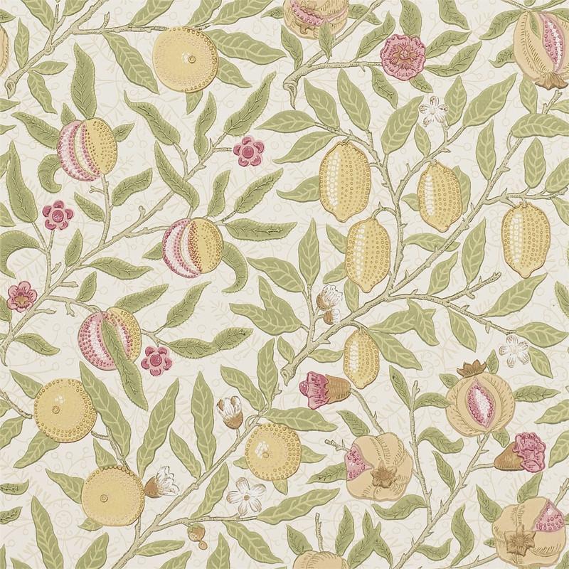 Tapet – Fruit W/P Limestone/Artichoke från Byggfabriken