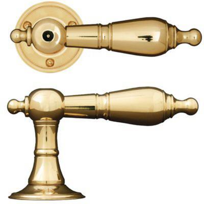 Klassiska dörrhandtag
