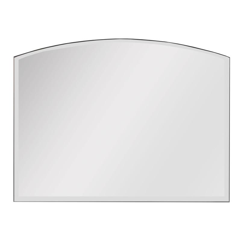 Spegel fasett välvd från Byggfabriken