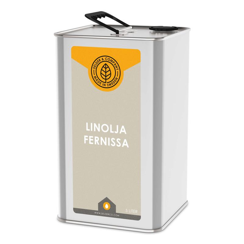 Linolja Fernissa - 1 lit från Byggfabriken