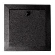 Klaffventil 150 mm svart från Byggfabriken