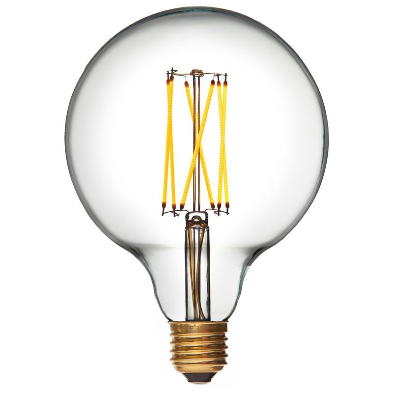 Ledlampa Glob 125 mm E27, 300 lumen från Byggfabriken