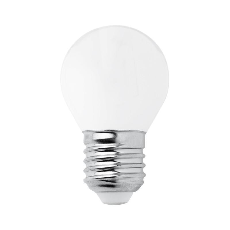 Ledlampa Glob 45 mm Opal E27, 330 lumen från Byggfabriken
