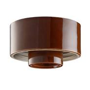 Brun lampsockel Rak IP20 från Byggfabriken