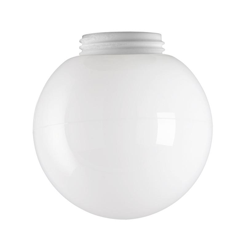 Glaskupa 150 mm Opal från Byggfabriken