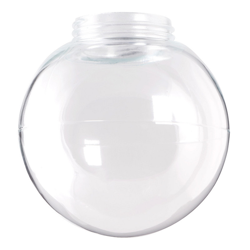 Glaskupa 180 mm Klar från Byggfabriken