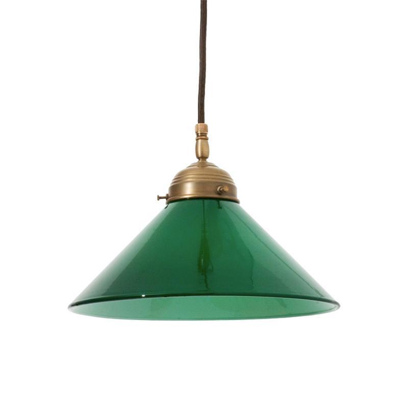 Skomakarlampa Grön 250 mm från Byggfabriken
