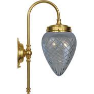 Badrumslampa Blomberg Slipat från Byggfabriken