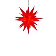 Julstjärna Hernhut Röd 13 cm från Byggfabriken