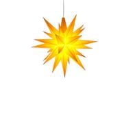 Julstjärna Hernhut Gul 13 cm från Byggfabriken