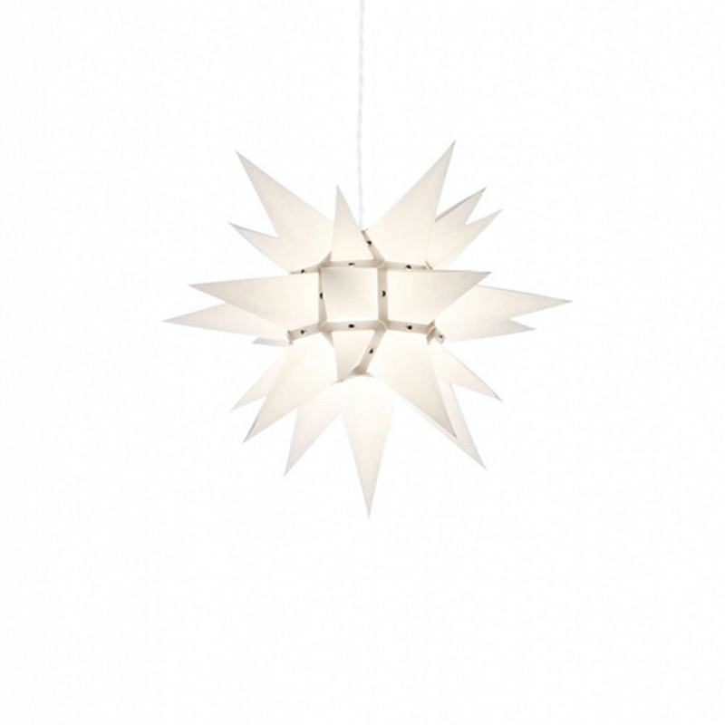 Julstjärna Hernhut Vit 40 cm från Byggfabriken