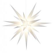 Julstjärna Hernhut Vit 80 cm från Byggfabriken