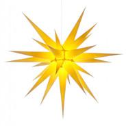 Julstjärna Hernhut Gul 80 cm från Byggfabriken