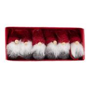 Julgranshänge Tomte 6-pack från Byggfabriken
