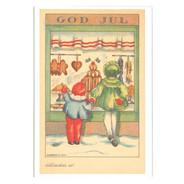 Julkort - Gotteboden från Byggfabriken