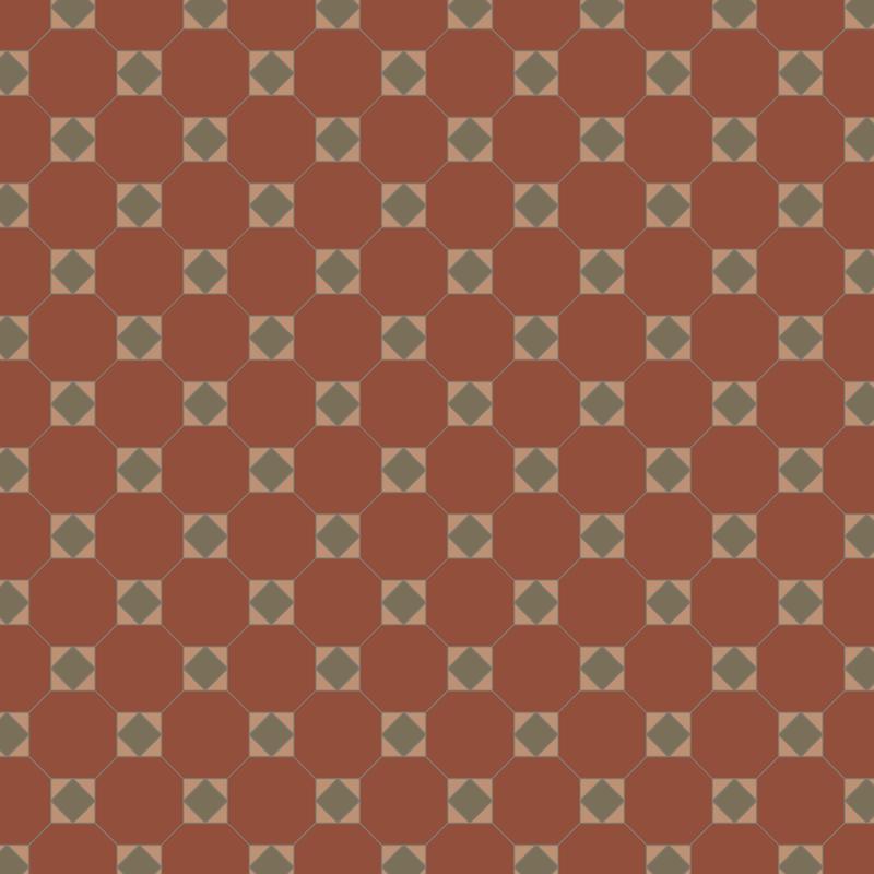Arundel Red/Green/Buff KVM från Byggfabriken