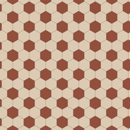 Barcelona Red/White KVM från Byggfabriken