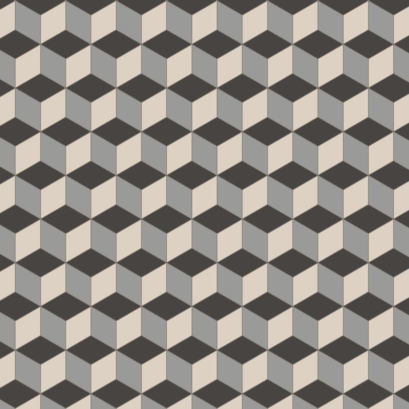 Bloomsbury Grey/Dover White/Black KVM från Byggfabriken