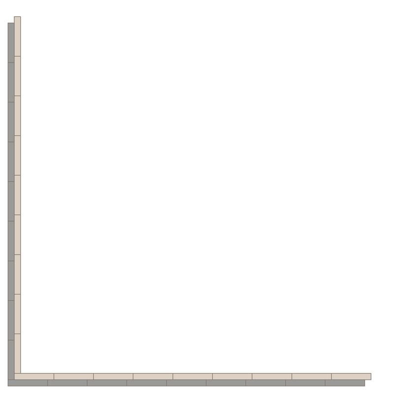 Donner Grey/Dover White LPM från Byggfabriken